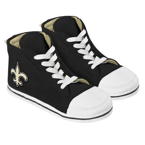 New Orleans Saints Official NFL Puffy High Top Slippers