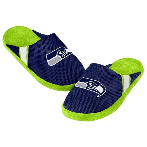 Seattle Seahawks Official NFL Jersey Slippers