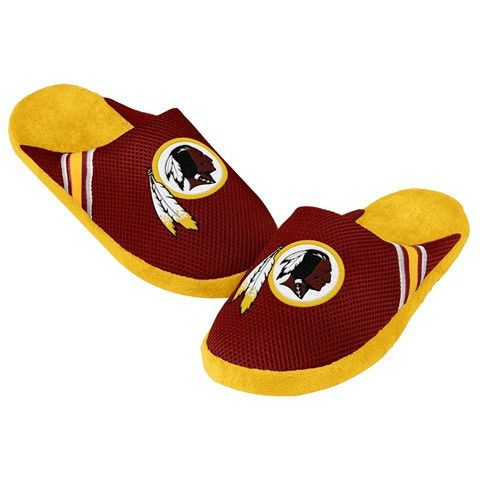 Washington Redskins Official NFL Jersey Slippers