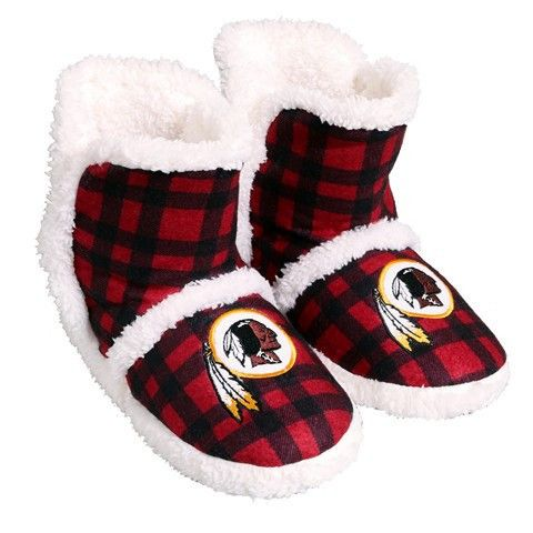 Washington Redskins Official NFL Flannel Sherpa Boots