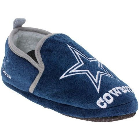 Dallas Cowboys Official NFL 8-16 Youth Sherpa Slippers