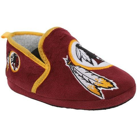 Washington Redskins Official NFL 8-16 Youth Sherpa Slippers