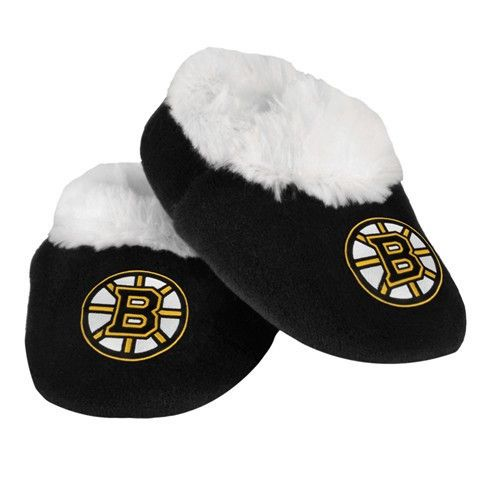 Boston Bruins Baby Bootie Slipper Official NHL Baby Bootie Slippers