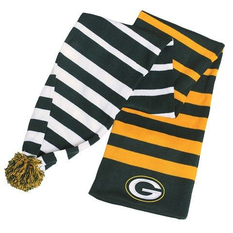 Green Bay Packers 2015 NFL Wrap Scarf By Klew