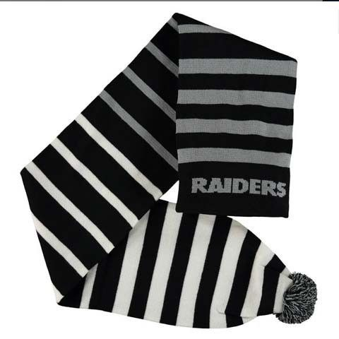 Oakland Raiders 2015 NFL Wrap Scarf