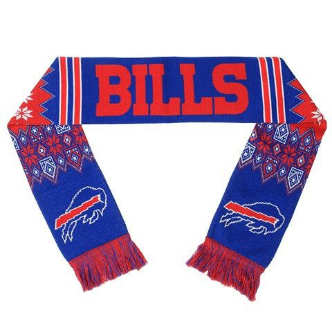 Buffalo Bills Official NFL Lodge Scarf