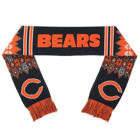 Chicago Bears Official NFL Lodge Scarf