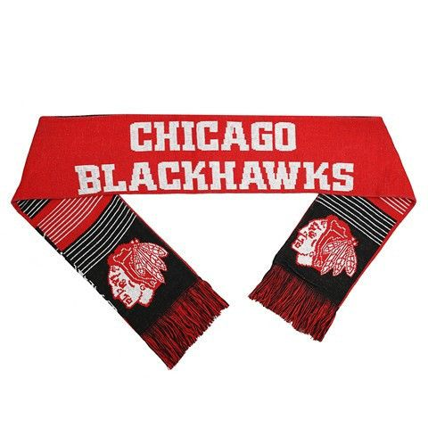 Chicago Blackhawks NHL Reversible Split Logo Scarf