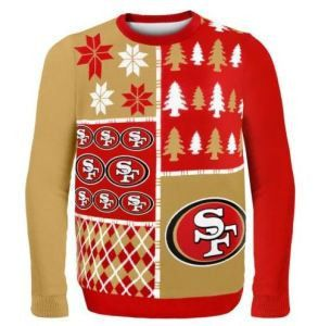 San Francisco 49ers Official NFL Ugly Sweater