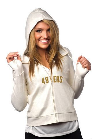 "San Francisco 49ers Women's Official NFL ""playaction"" Hoodie"