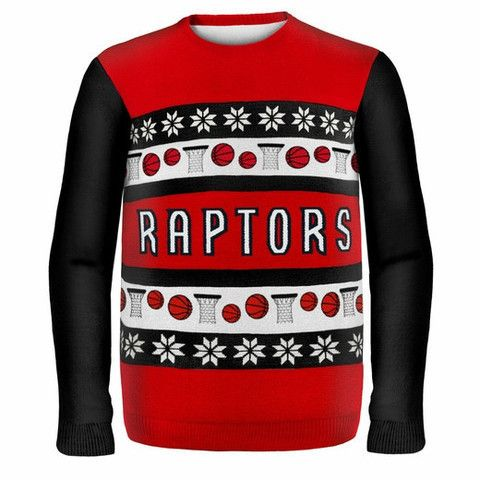 Toronto Raptors Official NBA Ugly Sweater