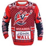 Washington Wizards John Wall Official NBA Ugly Sweater
