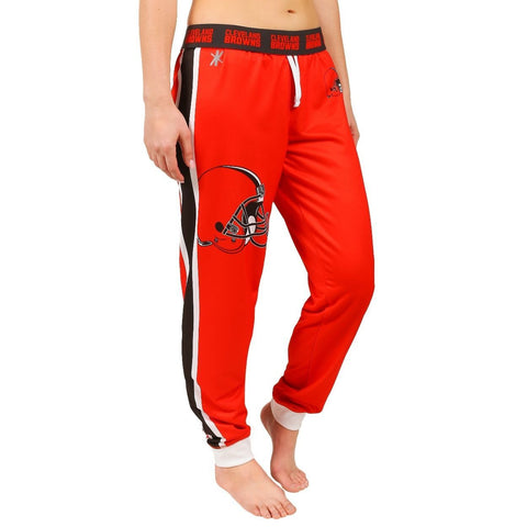 Cleveland Browns Official NFL Womens Poly Fleece Jogger Pants
