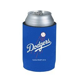 Los Angeles Dodgers Official MLB Beer Can Collapsible Holder Neoprene Cooler