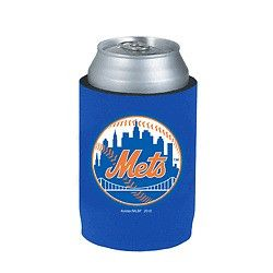 New York Mets Official MLB Beer Can Collapsible Holder Neoprene Cooler