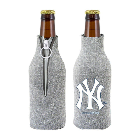 New York Yankees Official MLB Licensed Glitter Bottle Cooler Huggie