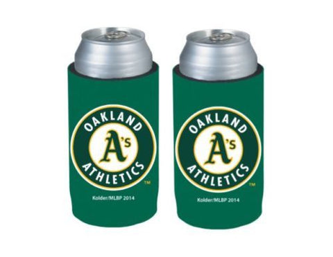 Oakland Athletics Official MLB Ultra Slim Can Drink Beer Holder