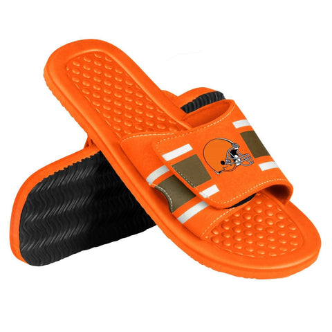 Cleveland Browns Official NFL Men's Shower Slide Flip Flops