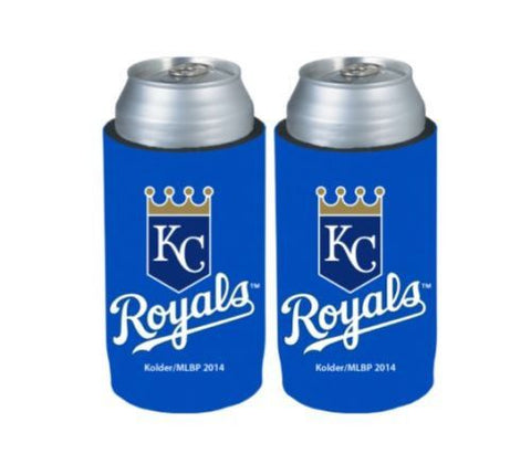 Kansas City Royals Official MLB Ultra Slim Can Drink Beer Holder