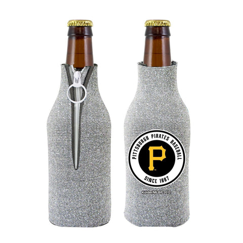 Pittsburgh Pirates Official MLB Licensed Glitter Bottle Cooler Huggie