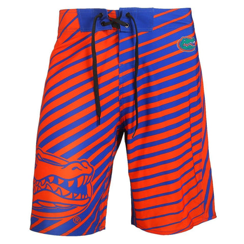 Florida Gators Official NCAA Poly Stripes Swimsuit Boardshorts