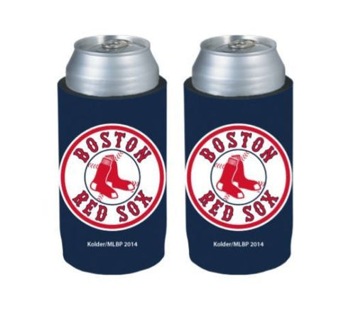 Boston Red Sox Official MLB Ultra Slim Can Drink Beer Holder