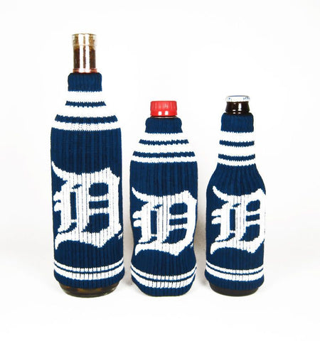 Detroit Tigers Official MLB Krazy Kovers Stretchy Woolie Bottle Cooler