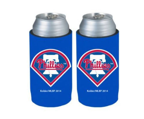 Philadelphia Phillies Official MLB Ultra Slim Can Drink Beer Holder