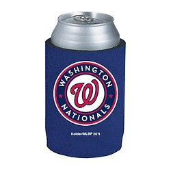 Washington Nationals Official MLB Beer Can Collapsible Holder Neoprene Cooler