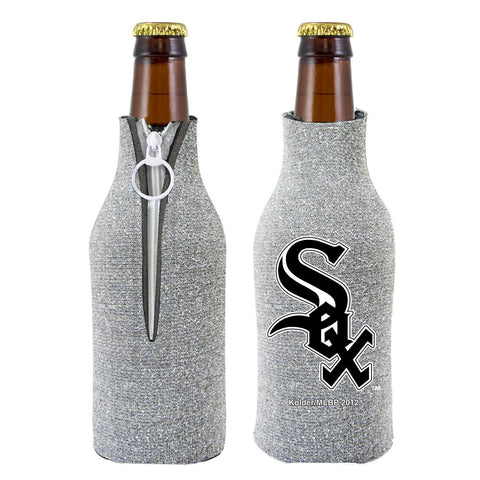 Chicago White Sox Official MLB Licensed Glitter Bottle Cooler Huggie