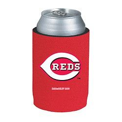 Cincinnati Reds Official MLB Beer Can Collapsible Holder Neoprene Cooler