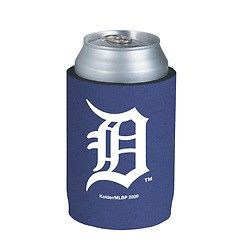 Detroit Tigers Official MLB Beer Can Collapsible Holder Neoprene Cooler