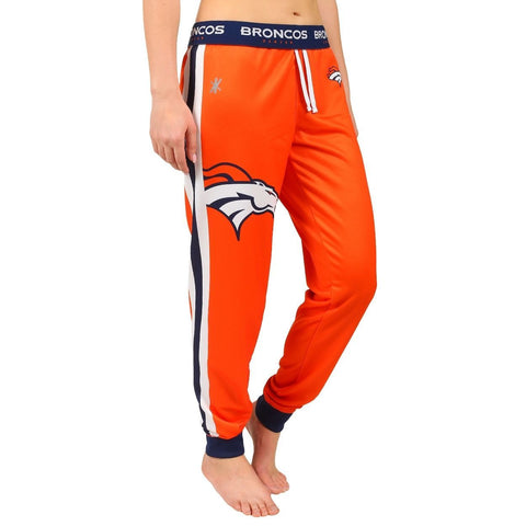 Denver Broncos Official NFL Womens Poly Fleece Jogger Pants