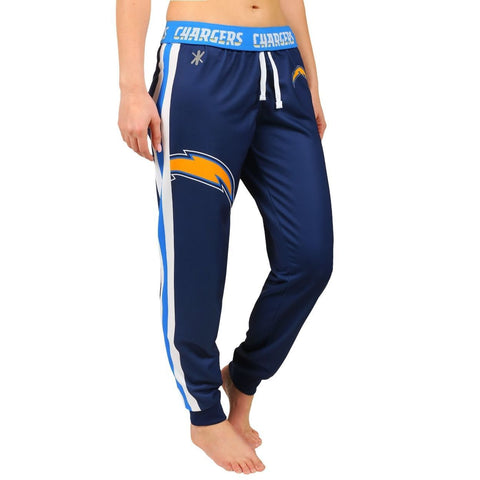 San Diego Chargers Official NFL Womens Poly Fleece Jogger Pants