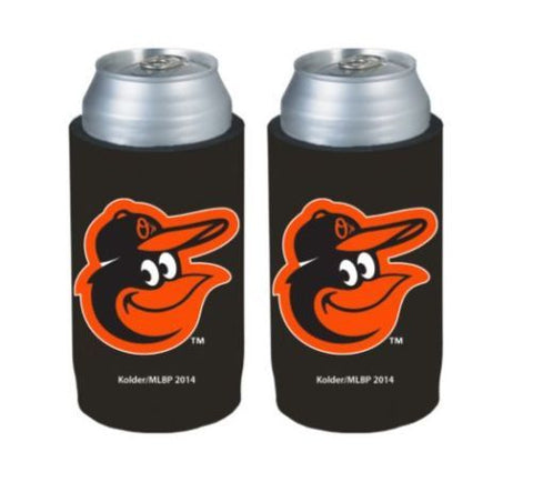 Baltimore Orioles Official MLB Ultra Slim Can Drink Beer Holder