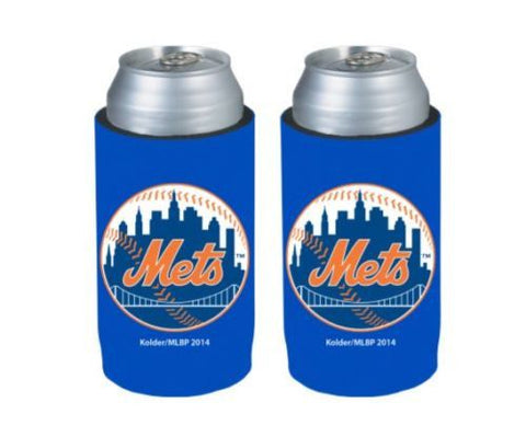 New York Mets Official MLB Ultra Slim Can Drink Beer Holder