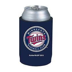 Minnesota Twins Official MLB Beer Can Collapsible Holder Neoprene Cooler