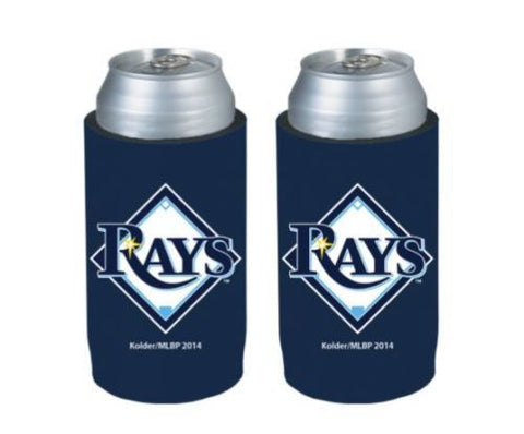 Tampa Bay Rays Official MLB Ultra Slim Can Drink Beer Holder