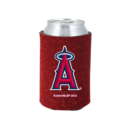 Los Angeles Angels Official MLB Glitter Can Collapsable Beer Holders