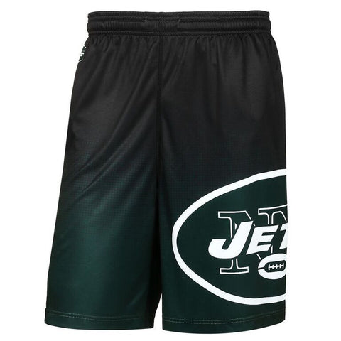 New York Jets Official NFL Gradient Polyester Drawstring Shorts