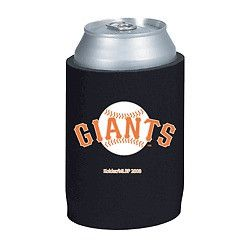 San Francisco Giants Official MLB Beer Can Collapsible Holder Neoprene Cooler