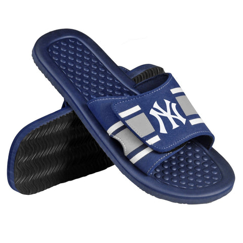 New York Yankees Official MLB Men's Shower Slide Flip Flops