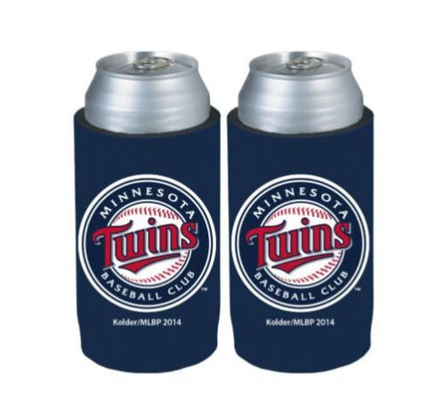 Minnesota Twins Official MLB Ultra Slim Can Drink Beer Holder