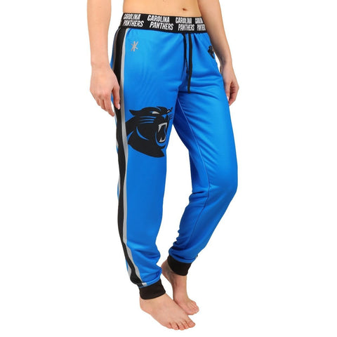 Carolina Panthers Official NFL Womens Poly Fleece Jogger Pants