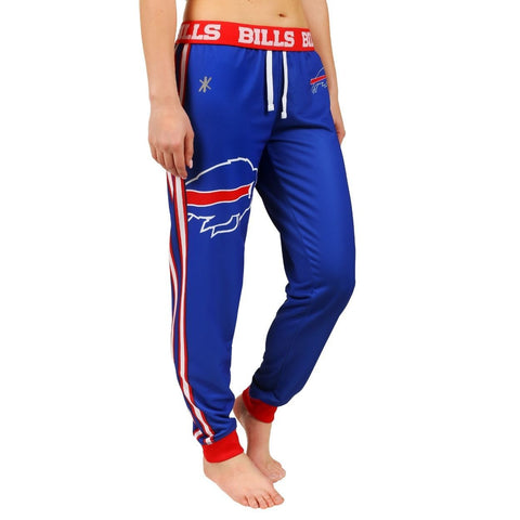 Buffalo Bills Official NFL Womens Poly Fleece Jogger Pants