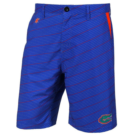 Florida Gators Official NCAA Dots Walking Shorts with Pockets Button and Zipper