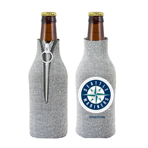 Seattle Mariners Official MLB Licensed Glitter Bottle Cooler Huggie