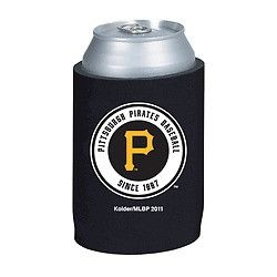Pittsburgh Pirates Official MLB Beer Can Collapsible Holder Neoprene Cooler