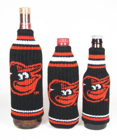Baltimore Orioles Official MLB Krazy Kovers Stretchy Woolie Bottle Cooler