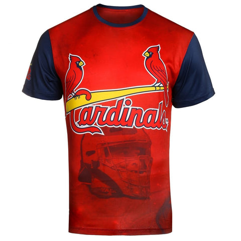 St Louis Cardinals Y. Molina Official MLB Watermark Player Tee T-Shirt